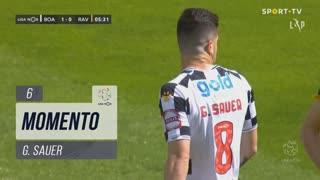 Boavista FC, Jogada, G. Sauer aos 6'