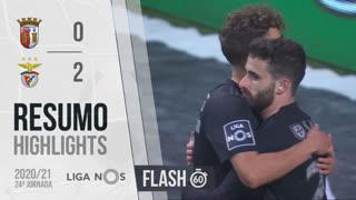 Liga NOS (24ªJ): Resumo Flash SC Braga 0-2 SL Benfica