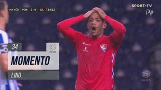 Gil Vicente FC, Jogada, Lino aos 34'