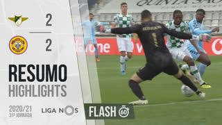 I Liga (31ªJ): Resumo Flash Moreirense FC 2-2 CD Nacional