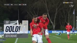 GOLO! SL Benfica, Seferovic aos 58', Belenenses SAD 0-2 SL Benfica