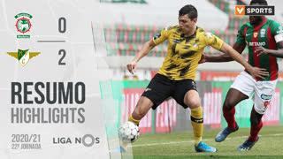 Liga NOS (22ªJ): Resumo Marítimo M. 0-2 Moreirense FC
