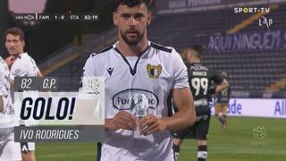 GOLO! FC Famalicão, Ivo Rodrigues aos 82', FC Famalicão 1-0 Santa Clara