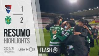 Liga NOS (18ªJ): Resumo Flash Gil Vicente FC 1-2 Sporting CP