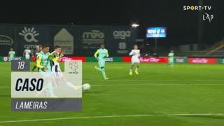 FC Famalicão, Caso, Lameiras aos 18'