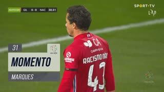Gil Vicente FC, Jogada, Marques aos 31'