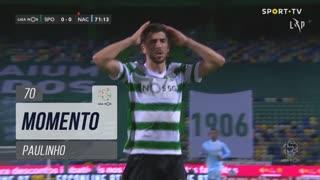 Sporting CP, Jogada, Paulinho aos 70'