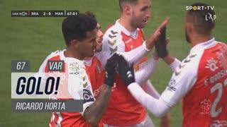 GOLO! SC Braga, Ricardo Horta aos 67', SC Braga 2-0 Marítimo M.