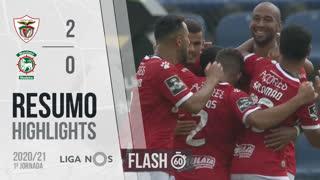 I Liga (1ªJ): Resumo Flash Santa Clara 2-0 Marítimo M.