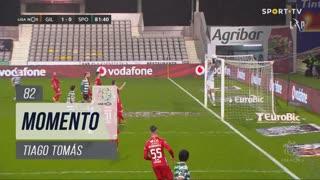 Sporting CP, Jogada, Tiago Tomás aos 82'