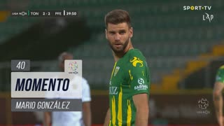 CD Tondela, Jogada, Mario González aos 40'