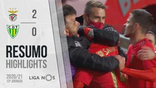 I Liga (13ªJ): Resumo SL Benfica 2-0 CD Tondela