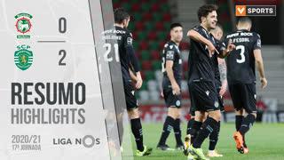 I Liga (17ªJ): Resumo Marítimo M. 0-2 Sporting CP