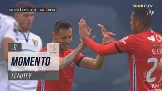 Gil Vicente FC, Jogada, Leautey aos 6'