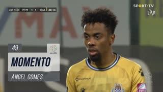 Boavista FC, Jogada, Angel Gomes aos 49'