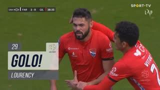 GOLO! Gil Vicente FC, Lourency aos 29', SC Farense 2-1 Gil Vicente FC