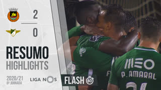 I Liga (6ªJ): Resumo Flash Rio Ave FC 2-0 Moreirense FC