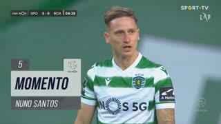 Sporting CP, Jogada, Nuno Santos aos 5'