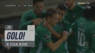 GOLO! SC Farense, N. Stojiljkovic aos 79', Vitória SC 2-2 SC Farense