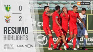 Liga NOS (30ªJ): Resumo CD Tondela 0-2 SL Benfica