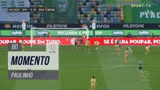 Sporting CP, Jogada, Paulinho aos 60'