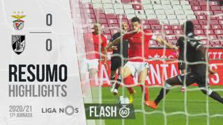 Liga NOS (17ªJ): Resumo Flash SL Benfica 0-0 Vitória SC