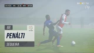 SC Braga, Penálti, Sequeira aos 68'