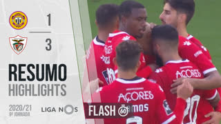 Liga NOS (9ªJ): Resumo Flash CD Nacional 1-3 Santa Clara