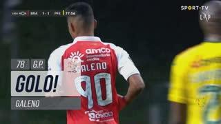 GOLO! SC Braga, Galeno aos 78', SC Braga 1-1 FC P.Ferreira