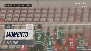 Sporting CP, Jogada, Paulinho aos 82'