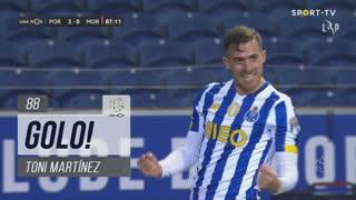 GOLO! FC Porto, Toni Martínez aos 88', FC Porto 2-0 Moreirense FC