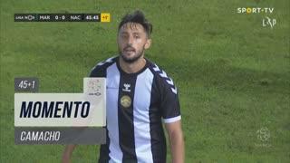 CD Nacional, Jogada, Camacho aos 45'+1'
