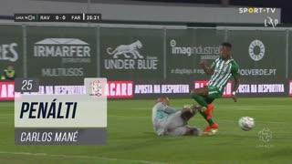 Rio Ave FC, Penálti, Carlos Mané aos 25'