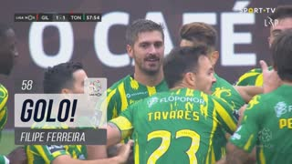 GOLO! CD Tondela, Filipe Ferreira aos 58', Gil Vicente FC 1-1 CD Tondela