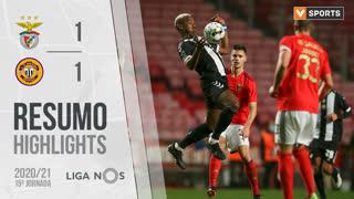 Liga NOS (15ªJ): Resumo SL Benfica 1-1 CD Nacional
