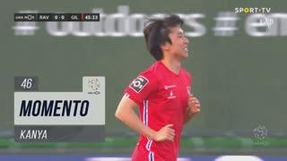 Gil Vicente FC, Jogada, Kanya aos 46'