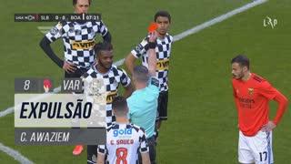 Boavista FC, Expulsão, C. Awaziem aos 8'