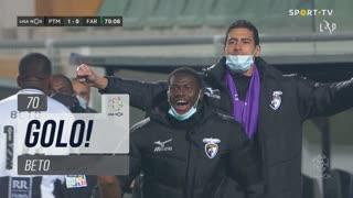 GOLO! Portimonense, Beto aos 70', Portimonense 1-0 SC Farense