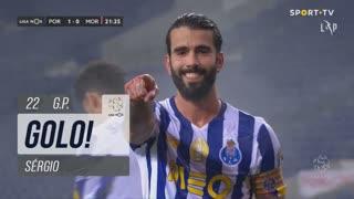 GOLO! FC Porto, Sérgio aos 22', FC Porto 1-0 Moreirense FC