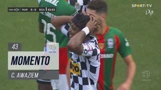 Boavista FC, Jogada, C. Awaziem aos 43'
