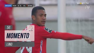 Gil Vicente FC, Jogada, Lino aos 56'