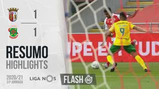 Liga NOS (31ªJ): Resumo Flash SC Braga 1-1 FC P.Ferreira