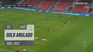 SC Braga, Golo Anulado, Abel Ruiz aos 55'