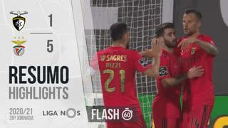 I Liga (28ªJ): Resumo Flash Portimonense 1-5 SL Benfica