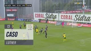 FC P.Ferreira, Caso, Luther aos 13'
