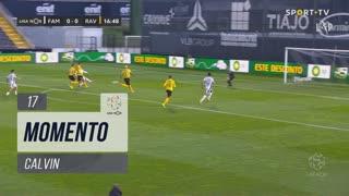 FC Famalicão, Jogada, Calvin aos 17'