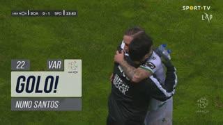 GOLO! Sporting CP, Nuno Santos aos 22', Boavista FC 0-1 Sporting CP