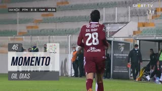 FC Famalicão, Jogada, Gil Dias aos 46'