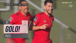 GOLO! SL Benfica, Pizzi aos 12', CD Tondela 0-1 SL Benfica