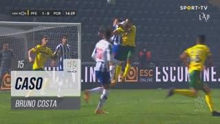 FC P.Ferreira, Caso, Bruno Costa aos 15'